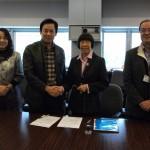 廣西省科學技術協會訪港代表團於2012年12月7日與我會簽署合作備忘錄