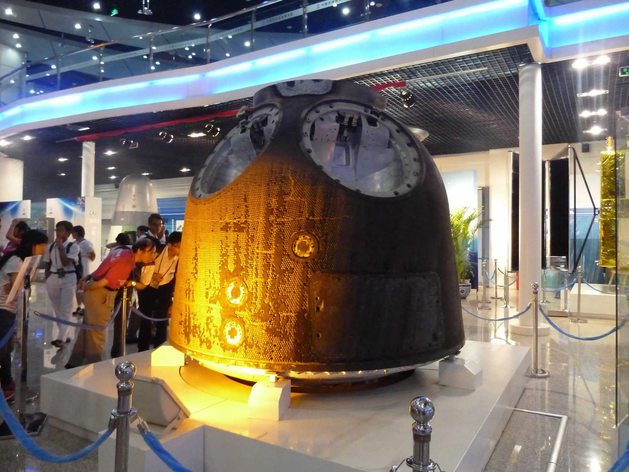 參觀中國航天科技集團  中國空間技術研究院 (3)